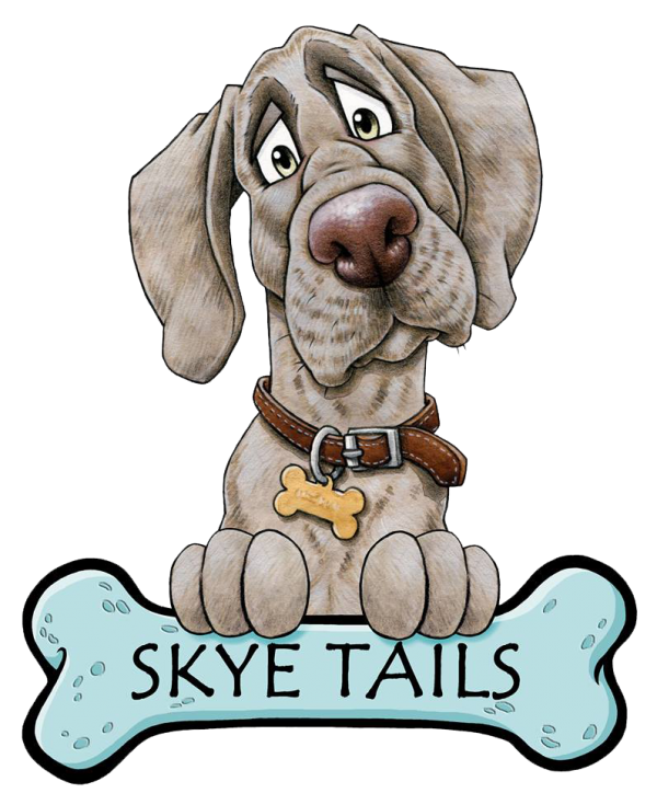 Skye Tails, Handmade Dog Treats Logo