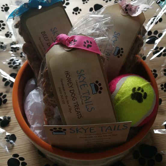 Skye Tails, Handmade dog trates Gift Hamper