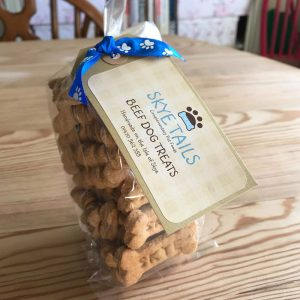 Handmade Beef Dog Biscuits by Skye Tails on the Isle of Skye