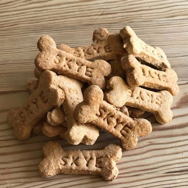 Dog Biscuits lovingly handmade on the Isle of Skye